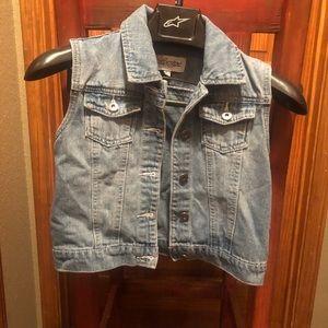 Girls denim vest - Revolt size L